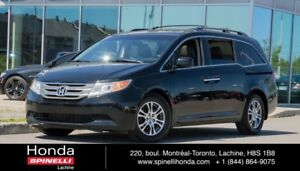 2012 Honda Odyssey EX-L w/RES DVD CUIR TOIT 8 PASS LEATHER ROOF