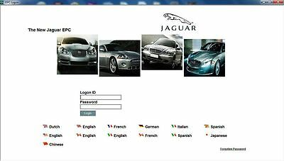 ** NEWEST 03/2018 ** JAGUAR EPC Electronic Parts Catalogue Teilekatalog 2018 !!!