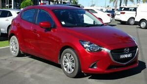 2016 Mazda 2 DJ MY16 Neo Red 6 Speed Automatic Hatchback South Nowra Nowra-Bomaderry Preview
