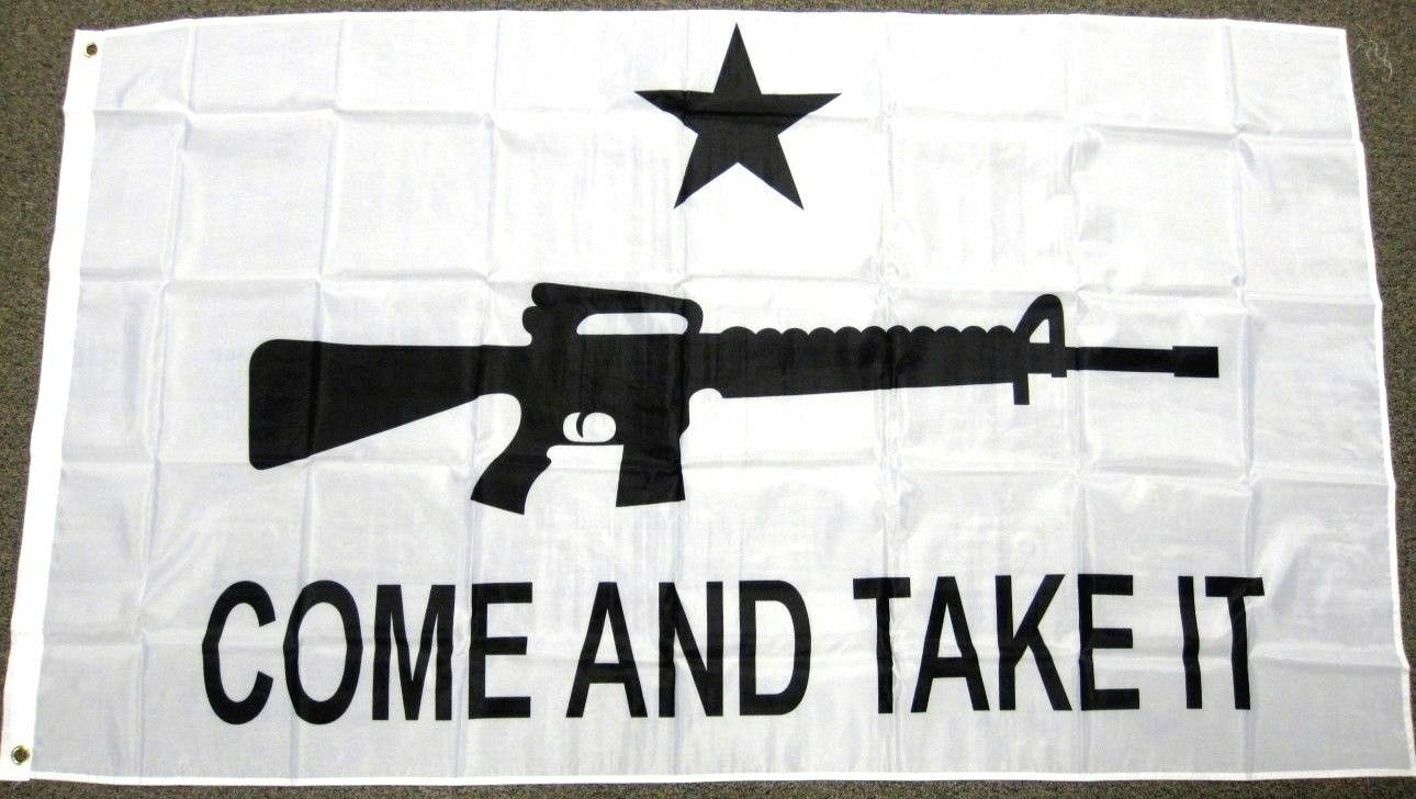 3x5 come and take it flag texas