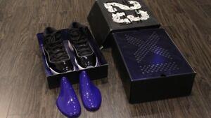 "Authentic Jordan 11 ""Space Jams"" Size 9.5"