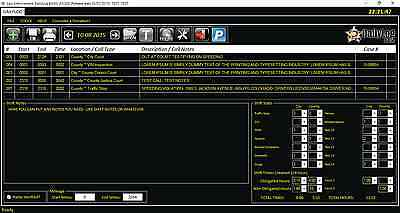 Police Security Daily Activity Log Software 5 Licence Key Combo