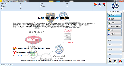 VAG ODIS Service 4.2.3 + ODIS Engineering 7.2.2 All Brands Audi Seat Skoda VW
