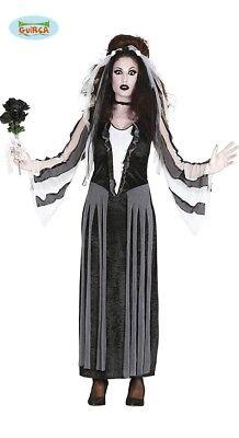Untote Braut Halloween Kostüm für Damen Geister Zombie Grusel - Geist Kostüm Für Damen