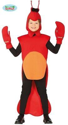 Krabbe Krebs Languste Kinderkostüm Krabbenkostüm Hummer Kostüm