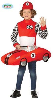 Wagen Kostüm (Rennwagen Rennauto Kostüm Kinder Rennwagenkostüm)