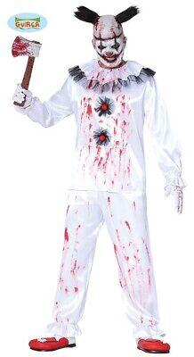 Guirca Durchgedrehter Horror Clown Halloween Kostüm -