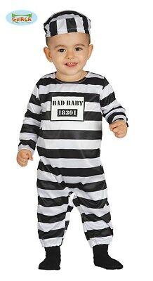 leiner Gefangener Knast Baby Kinderkostüm (Baby Sträfling Kostüm)