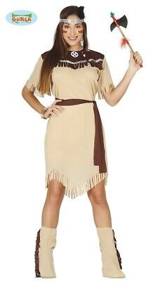 Indianderin Kostüm Indianer Squaw America Inder Cherokee (Indianer Frau Kostüm)