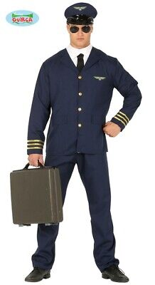 Pilot Kostüm Pilotenkostüm Herren - Pilot Kapitän Kostüm