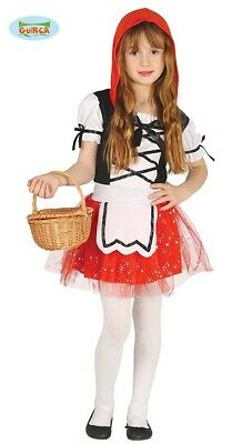 Guirca Little Red Riding Hood Dress for Girls Fairy Tale Costume Carnival (Fairy Dresses For Little Girls)