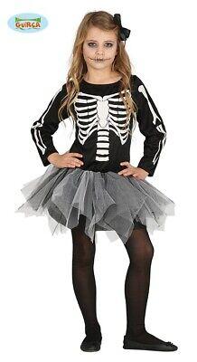 Guirca schauriges Skelett Kleid für Mädchen Halloween Tutu - Skelett Kostüm Mädchen