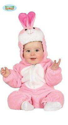 Guirca–Kostüm Baby Hase rosa Häschen Kaninchen - Kaninchen Baby Kostüme