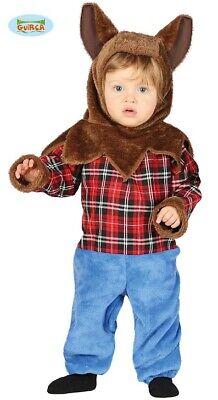 Schottischer Wolfsjunge für Kinder Werwolf Halloween (Werwolf Kostüm Für Kinder)