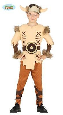 Guirca Kostüm für Jungen Wikinger Gallier Barbar Kinderkostüm (Wikinger Kostüme Für Jungen)
