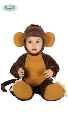 Affenkostüm Baby Affe Kostüm Tierkostüm ()