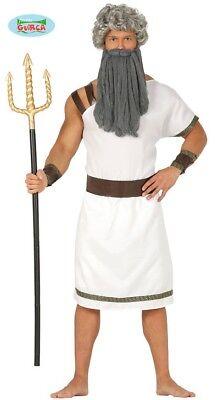 Spartaner Gladiator Karneval Kostüm für Herren Kämpfer Poseidon Dreizack