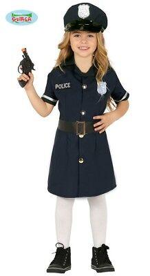 Polizistin Polizei Kostüm Kinder Mädchen Polizeikostüm (Mädchen Polizei Kostüme)