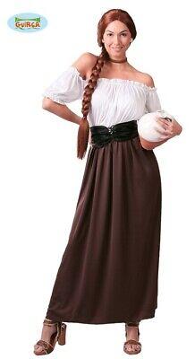 Mittelalterliches Wirtinnen Kostüm für Damen Marketenderin Damenkostüm