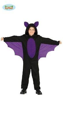 Guirca Fledermaus Kostüm mit Flügeln für Kinder - Kostüm Flügeln Kinder