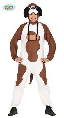 Bernhardiner Hundekostüm Kostüm für Erwachsene zu Karneval Halloween ()