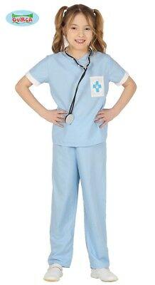 Tierärztin Doc Kinder Kinderkostüm Tierarzt Kostüm ()