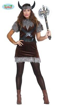 Wikinger Kostüm Wikingerkostüm Barbaren Damenkostüm one size