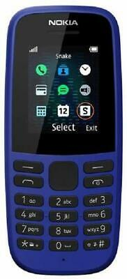 Nokia 105 (2019 edition) 1.77-Inch UK SIM Free Feature Phone (Single SIM) – Blue