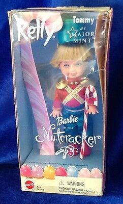 Barbie In The Nutcracker Featuring Tommy As Major Mint Doll 2001 Mattel