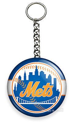 Mets Team Key (NY NEW YORK METS BASEBALL TEAM KEYCHAIN KEY FOB CHAIN SPORTS SPORT FAN GIFT)