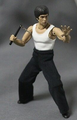 NOX-BL: FIGLot 1/12 fabric outfit set for SH Figuarts Bruce Lee (No - Bruce Lee Outfits