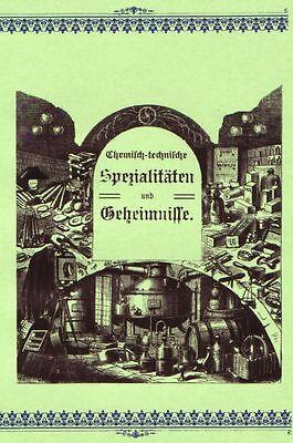 Chemisch-Technische Spezialitäten Rezeptbuch Metallindustrie 3 Bücher ~1910 CD