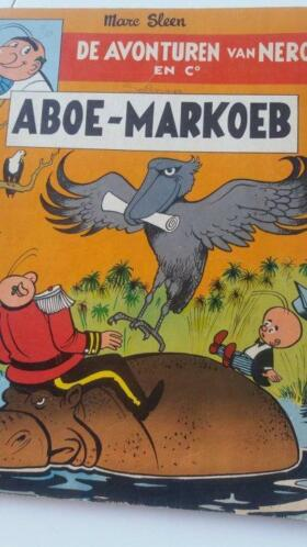 "Strip ""Aboe-Markoeb"" van Marc Sleen"