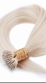 Nano rings and micro loop hair extensions