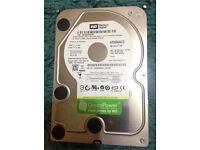"""WD Green 500 GB Internal HDD ‑ 3.5"""" ‑ WD5000AACS SATA3"""