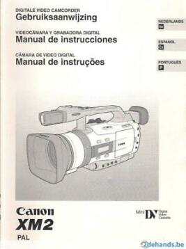 Digitale video camcorder - CANON XM2 - Pal