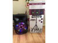 800 WATTS Speaker music box and Party lights