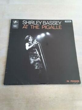 "Shirley Bassey orig.1ste persing UK 1965 "" Live at Pigalle"""