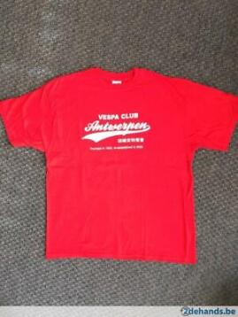 VCA Vespa club T-shirt Vespa Club Antwerpen