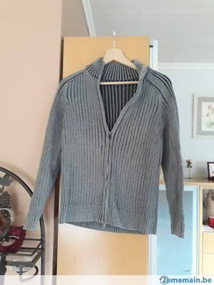 SOLDES - pull/gilet tons gris Celio - taille S (impeccable)