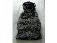 ** MARKS AND SPENCER GIRLS WARM WINTER COAT AGE 9-10 **