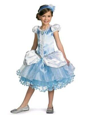 Cinderella Tutu Prestige Disney Princess Girls Costume S/P 4-6 StoryBook ()