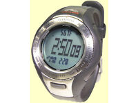 Techtrail Watch - Altimeter, Boromoter, waterproof, compass, Alarm etc