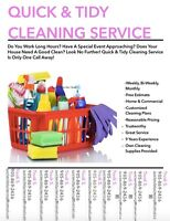 Quick & Tidy Cleaning Service