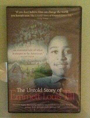 THE UNTOLD STORY OF EMMETT LOUIS TILL  DVD NEW