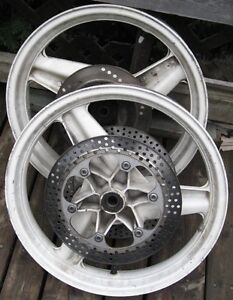 Honda CBR 600 F1 CBR600 rotors wheel  disk wheels hurricane rr