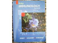 Kuby Immunology: by Kuby, J. Kindt and Osborne. Paperback- 6th edition