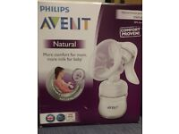 Philips Avent Manual Breast Pump like new for sale