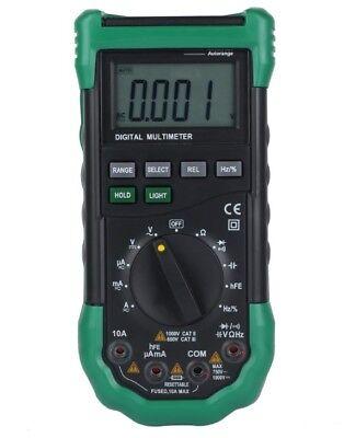 Ms8268 Digital Multimeter Automanual Range 5-in-1 Multi-functional Dmm Meter