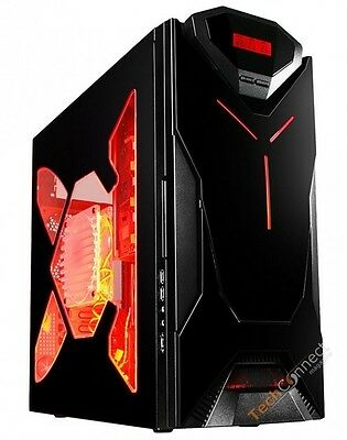 3.4ghz Custom Gaming Pc Computer System Hdmi 4gb Ram Dvd Rw Windows 7 500gb Hdd